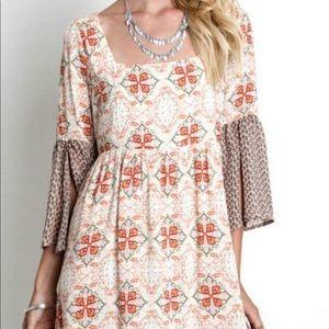 Umgee Bell A Line Dress